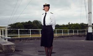 Lieutenant Tracey Santrian, the Royal Navy