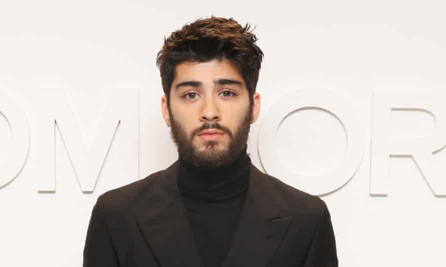 Zayn Malik at New York fashion week earlier this month.