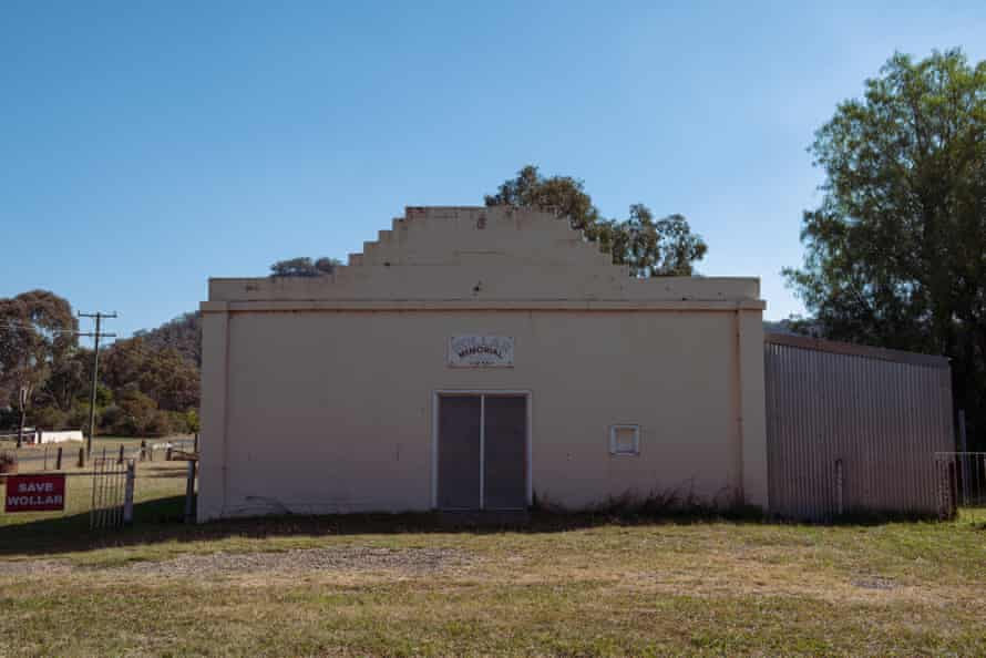 The memorial hall in Wollar, NSW.