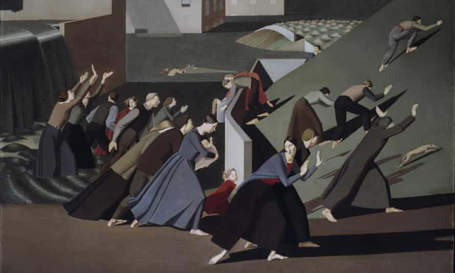 A detail from Winifred Knights's The Deluge (1920). Photograph: © Tate, London 2016. © The Estate of Winifred Knights
