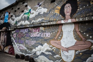 The themes explored in the street art are diverse, ranging from serious and political to fun and satirical