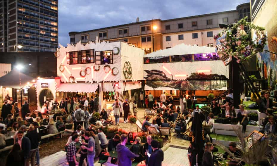 The Last Days of Shoreditch – the pop-up food and music venue is closing down.