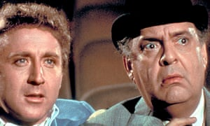 Zero Mostel and Gene Wilder in The Producers (1968).