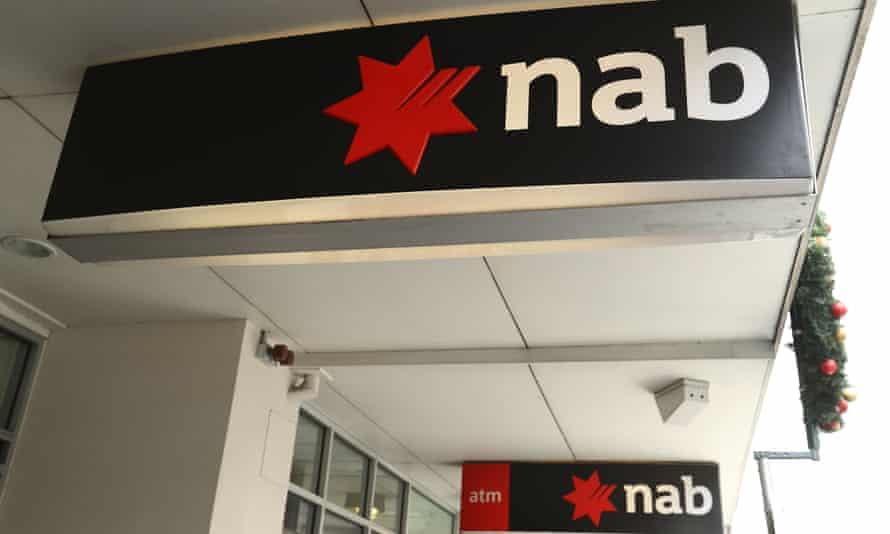 NAB signs on street
