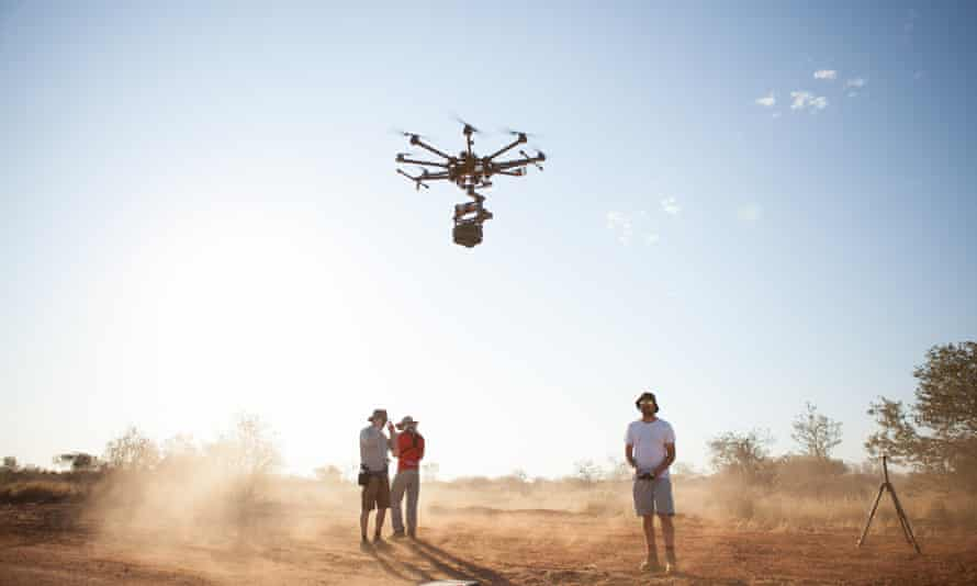 Collisions is a virtual reality journey to the land of indigenous elder Nyarri Nyarri Morgan and the Martu people in the remote Western Australian desert.