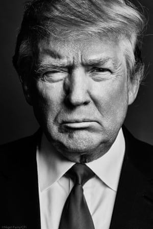 Donald Trump portrait for Esquire, 2015.