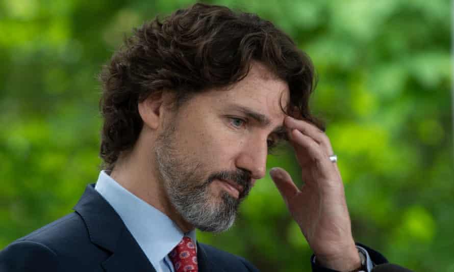 Justin Trudeau in Ottawa, Canada, on 29 May.