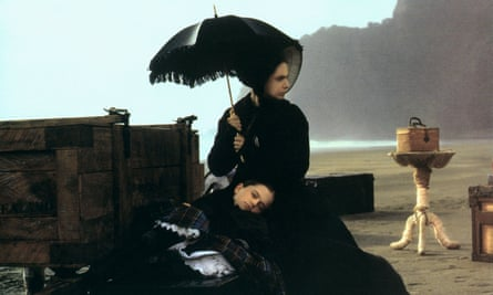 Holly Hunter and Anna Paquin in The Piano.