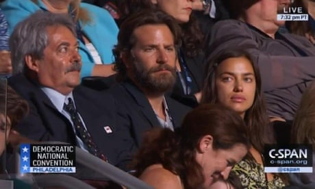 Bradley Cooper criticised by American Sniper fans for supporting Hillary