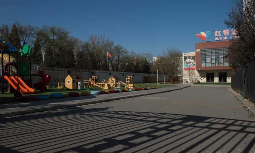 general view of the RYB Education New World kindergarten in Beijing china
