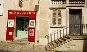 Musee de Montmartre in Rue Cortot, Paris