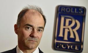 Warren East, CEO of Rolls-Royce