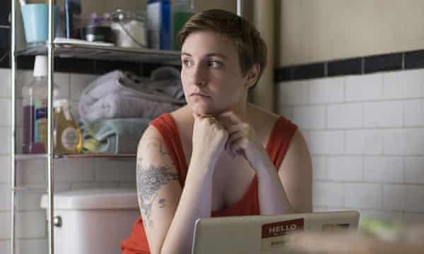 Lena Dunham in Girls (2017).
