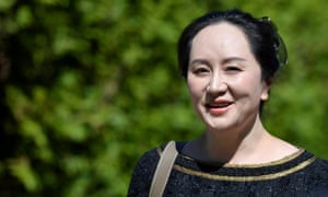Meng Wanzhou, Huawei's chief financial officer, leaves her home to attend a court hearing in Vancouver, British Columbia, in May.