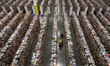 An Amazon distribution centre in Phoenix.