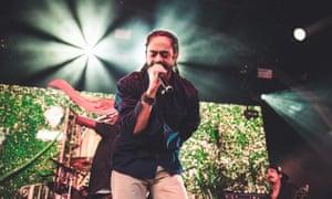 Damian Marley performing at Nass festival, July 2018.