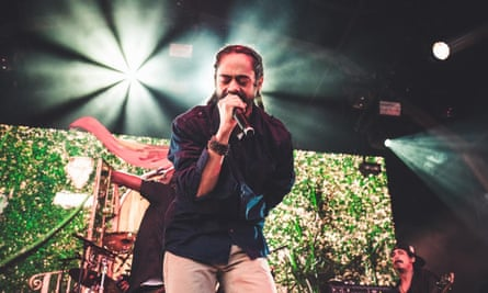 Damian Marley performing at Nass festival, July 2018.