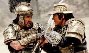 Hold-up on the Silk Road … John Cusack and Jackie Chan in Dragon Blade.