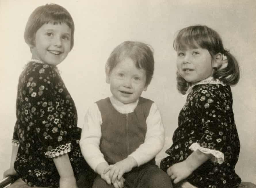 Fiona, Jonathan and Dani Freedland as children