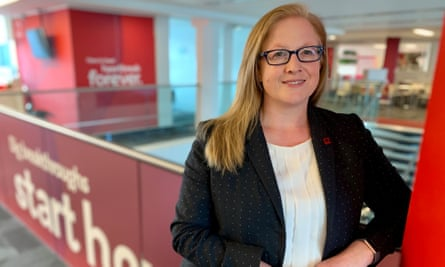 Charmaine Griffiths, chief executive of the British Heart Foundation