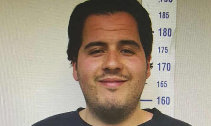 Brussels bomber Ibrahim el-Bakraoui in an image taken by Gaziantep police.