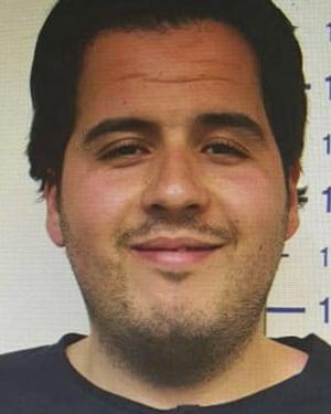 Brussels suicide bomber Ibrahim el-Bakraoui.