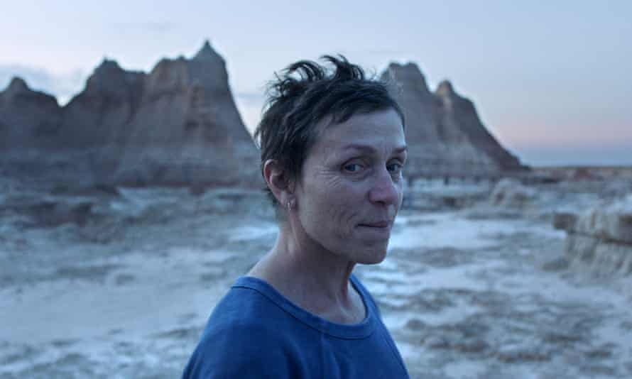 Frances McDormand in a scene from the film Nomadland, which is screening at the TIFF.