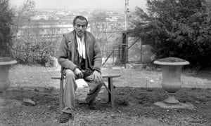Louis-Ferdinand Céline at his home in Meudon in about 1955.