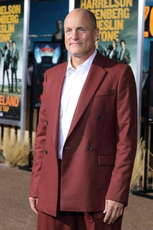 The actor Woody Harrelson