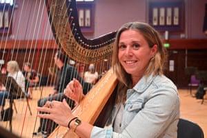 Tamara Young, harp