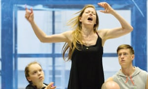 Despair … rehearsals for the Royal Opera House's Lessons in Love and Violence, about Edward II's relationship with the Earl of Cornwall.