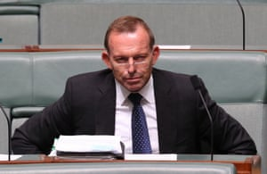 Tony Abbott during question time in the House of Representatives in Canberra this afternoon, Thursday 3rd March 2016.