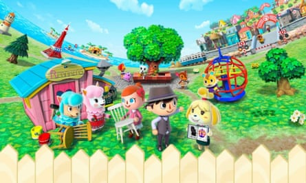 Old favourite: Animal Crossing by Nintendo is a stalwart of non-violent gaming