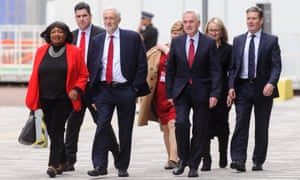 Members of Labour's shadow cabinet