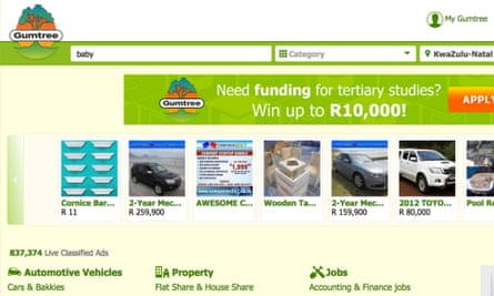 Gumtree in South Africa