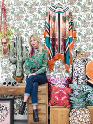 Vicki Murdoch in her studio