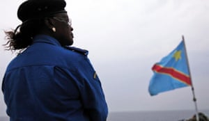 Honorine Munyole, know as Mama Colonel, works for the Congolese police and heads the unit for the protection of minors and the fight against sexual violence.
