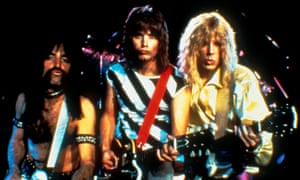Harry Shearer, Christopher Guest and Michael McKean in This Is Spinal Tap.