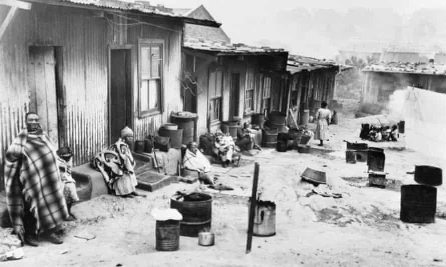 Sophiatown in 1954.