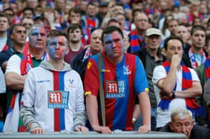 The Palace fans aren't impressed.