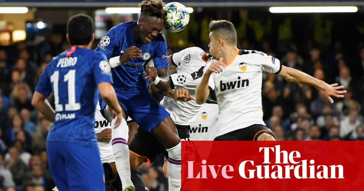 Chelsea v Valencia: Champions League – live!