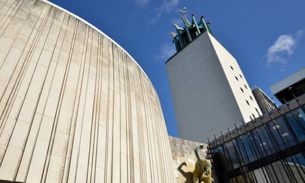 A physical manifestation of the cuts … Newcastle Civic Centre, soon to be partly rented out.