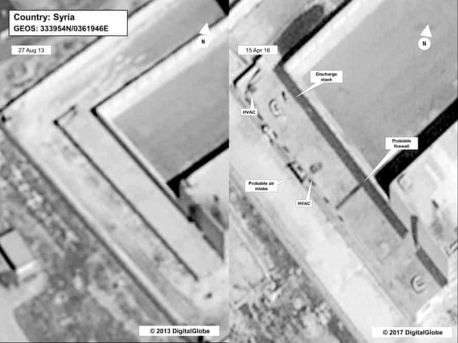 Image provided by the state department and DigitalGlobe.