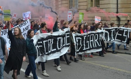 'Fossil fuel companies funded by our university have caused untold devastation to those at the front lines of the climate crisis.'