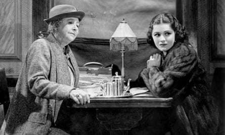 May Whitty and Margaret Lockwood in The Lady Vanishes