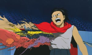 In turmoil … a still from the 1988 film of Akira, directed by Katsuhiro Otomo.
