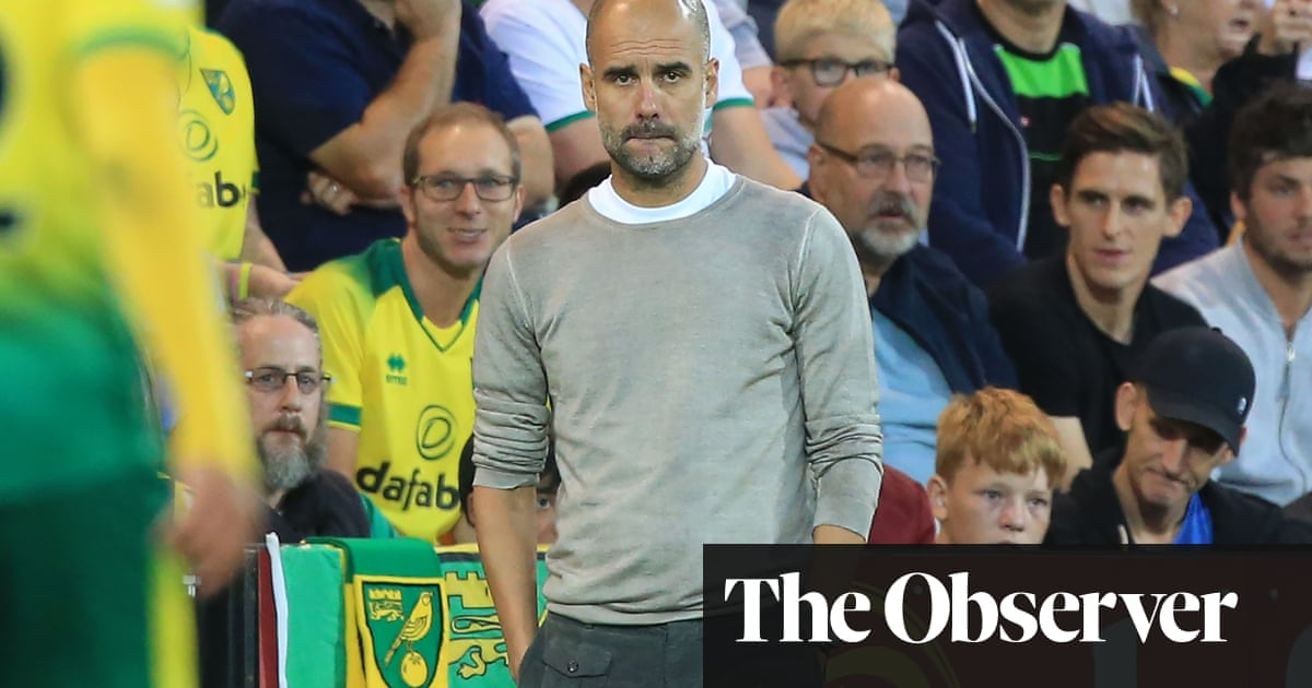 'We forget they are human' – Guardiola defends players after Norwich defeat