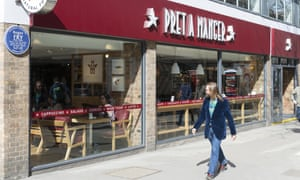 A Pret A Manger in London.