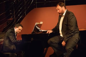 Bass Matthew Rose with pianist William Vann at Pizza Express, Chelsea.
