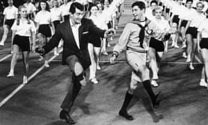 Jerry Lewis and Dean Martin in You're Never Too Young, 1955
